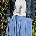 Une jupe chardon