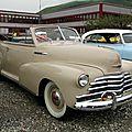 Chevrolet <b>Fleetmaster</b> convertible-1947
