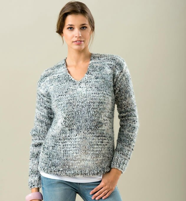 modele tricot pull femme facile