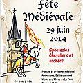 Caricaturiste du moyen-age à la-croix-aux-mines 88 vosges le dimanche 29 juin 2014