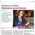 La page en breton du <b>Télégramme</b> : du nouveau