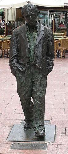 Oviedo-statue bronze Woody Allen