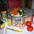 Wok de légumes au curry