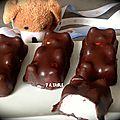 Guimauve mini-oursons et silpat macarons