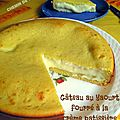 Gâteau au yaourt fourré à la crème patissière