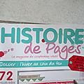 Histoires de pages n°61
