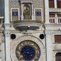 San Marco-tour de l'horloge et cadran zodiacal