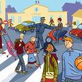 illustration la couverture du cahier du citoyen 5ème éd Hachette