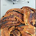Kringle aux epices & pepites de chocolat - kringle a las especias & pepitas de chocolate