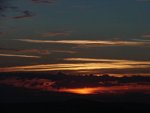 2008 08 11 Le levé du soleil depuis le sommet du Pic du Lizieux (10)