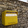 Enlèvement d'une boîte aux lettres...