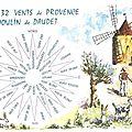 Les 32 vents de la Provence