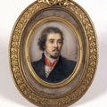 09. Jeanne-Mathilde HERBELIN, Portrait de Delacroix , 1855.