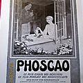 PHOSCAO FENETRE <b>1931</b> PUBLICITE ANCIENNE AL 86
