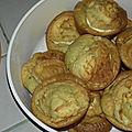Muffins <b>courgette</b> chèvre