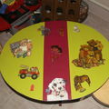 Table en médium enfants
