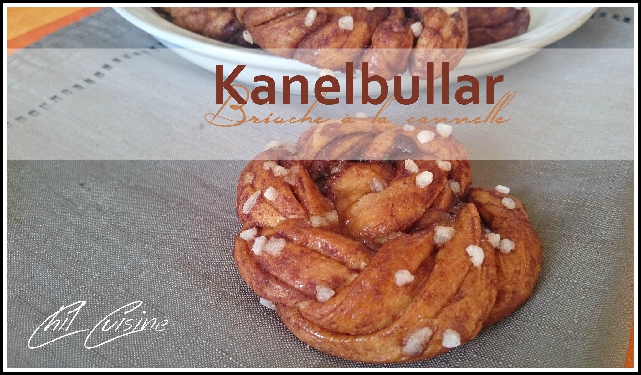 Kanelbullar (pain brioché à la cannelle)