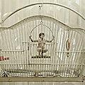 Un homme en <b>cage</b>