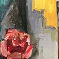 Kees <b>Van</b> Dongen portraits de femmes, portrait de Madeleine Grey à la rose