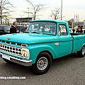 Ford F100 custom cab de 1965 (Rencard Burger King avril 2014) 01