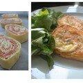 Feuilleté au saumon 1 pâte feuilletée déjà étalée