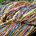 One row lace scarf : noro série #1