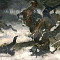 Princeteau, patrouille de uhlans surprise dans une embuscade (1871)