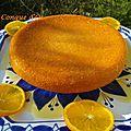 Gâteau à l'<b>orange</b> comme un baba
