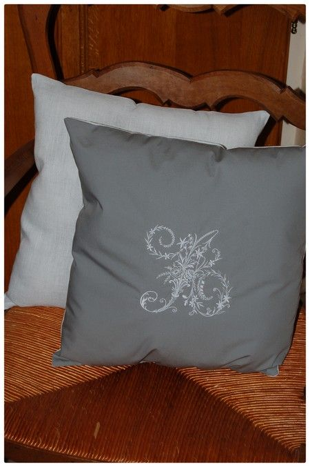 Coussin initiale A