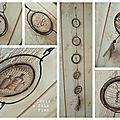 guirlande fil de fer, papier et tissu (11)