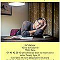 Concert/dégustations jann halexander au magique 10 décembre 2014