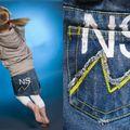 Irrésistible cette jupe en jean façon Vintage !