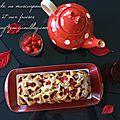 Cake au mascarpone et aux fraises