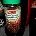 Crudité aux épices tomates & poivron