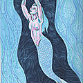 Ondine de la froide onde - Cold wave's undine - Mermay 06