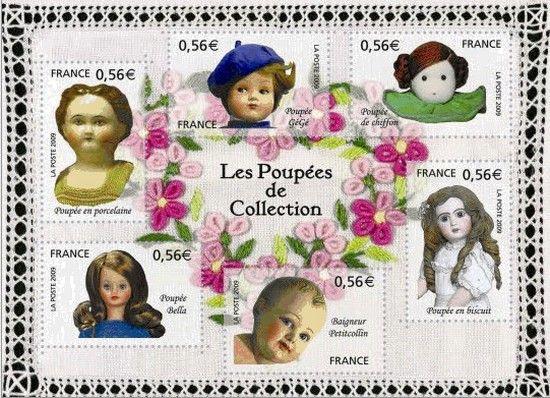 les poupées d'hier et d'aujourd'hui