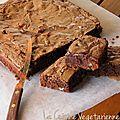 Brownies aux noix et pépites caramélisés...