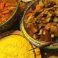 Couscous de fès veau et agneau de fatima