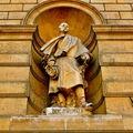 Statuaire de la façade du Louvre ; Duc d'Aumale.
