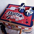 <b>Boite</b> Cadeau <b>personnalisée</b> Bébé Garçon