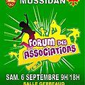 Forum des associations de mussidan >>> samedi 6 septembre 9h / 18h