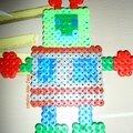 robot en perles à repasser