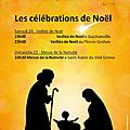 Les célébrations de noël dans notre paroisse