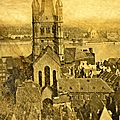 Catalogue d'anciennes photos d'europe 1880 cologne