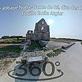 Ancienne abbaye Notre-Dame de Ré, sarcophages du moyen-âge découvert à Saint-Martin (Fouille Emile Atgier)