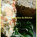 Ma terrine à la macédoine de légumes et aux œufs durs