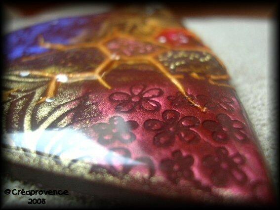 pendentif resine