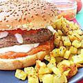 Burger aux saveurs d'italie