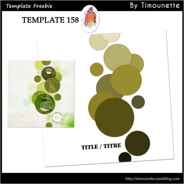 Template 159 Freebie by Timounette