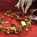 Greece: A retired policeman and a house painter caught with ancient gold wreath, armband